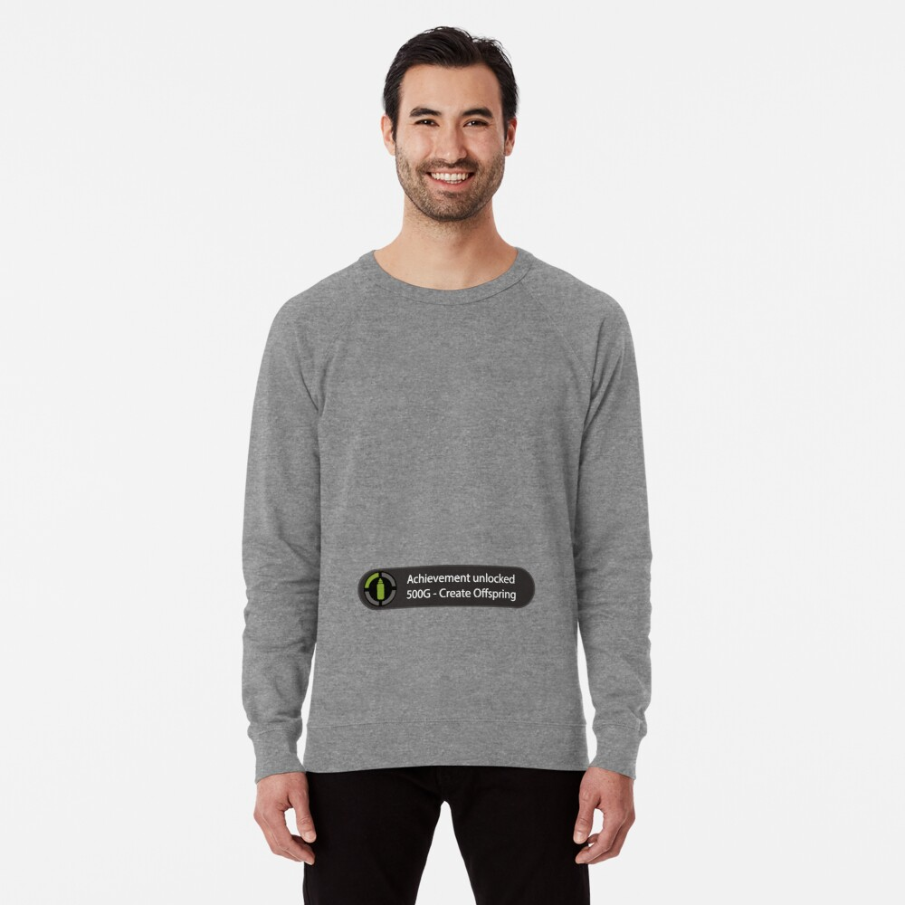 Achievement Unlocked - Create Offspring Lightweight Sweatshirt