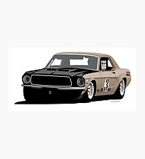 1968 427FE Mustang Road Racer Photographic Print