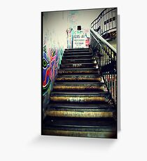 Stairs_Berlin Greeting Card