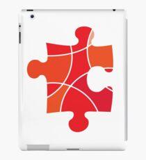 Red puzzle piece iPad Case/Skin