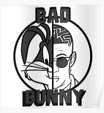 Bad Bunny Poster