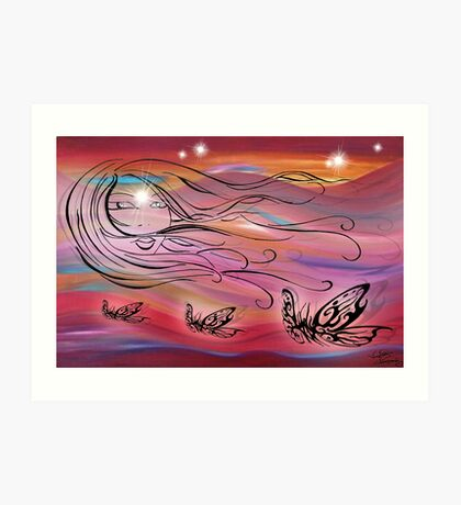 desert spirits  Art Print