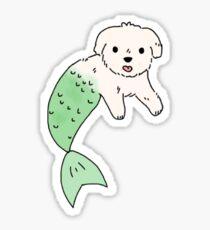 Maltipoo Merdawg Sticker