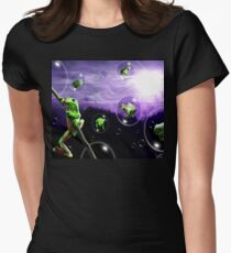 Amphibia Bubblemania Tee Womens Fitted T-Shirt