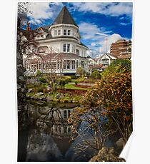 Huntingdon House [Gatsby Mansion] Poster