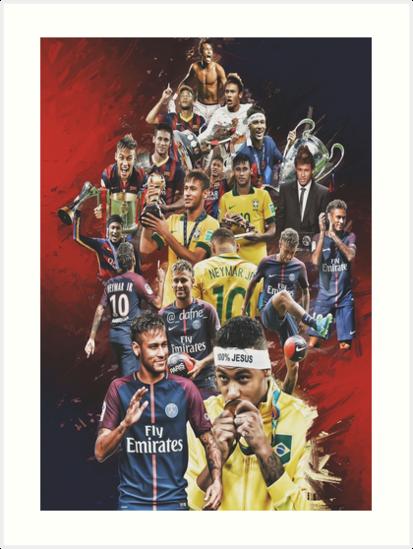 Neymar JR (Von Santos nach PSG + BRANT) von Daffo