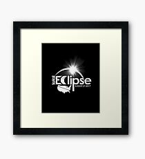 Total Solar Eclipse Astronomy Event 2017 TShirt / Decor Framed Print