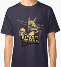 All Might Detroit Smash Classic T-Shirt