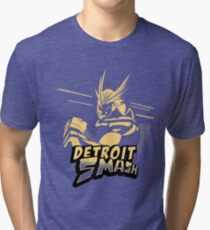 All Might Detroit Smash Tri-blend T-Shirt