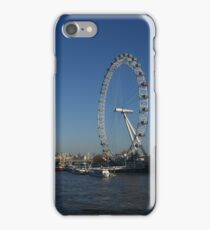 London Eye from Westminster Bridge iPhone Case/Skin