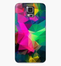 Colorful Polygon Case/Skin for Samsung Galaxy