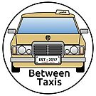 Between Taxis Small Logo Sticker by Between Taxis