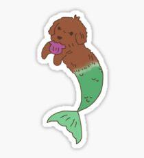 Brown Merdawg Sticker