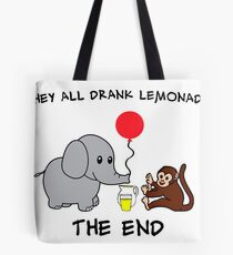 The Elephant Who Lost His Balloon Tote Bag