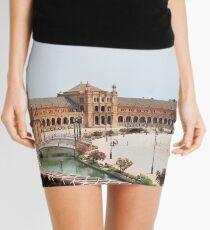 Plaza de Espana  Mini Skirt