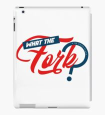 What The Fork  iPad Case/Skin