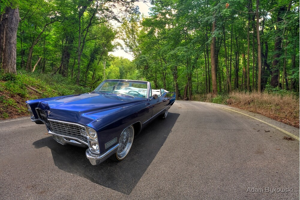 Top Down in My 67 Coupe de Ville by Adam Bykowski