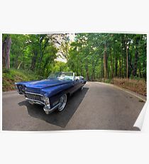 Top Down in My 67 Coupe de Ville Poster