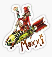 Bombshell Moxxi V2 Sticker