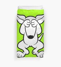 English Bull Terrier Hide  Duvet Cover
