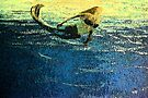 Mermaid Greeting the Dawn by Melissa J Barrett