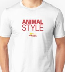 In-n-out: Tierstil Ich Slim Fit T-Shirt