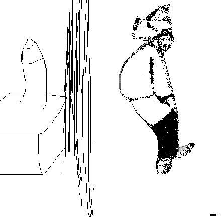 do do diddle dooodle doodle doo, portrait of a finger by mhkantor
