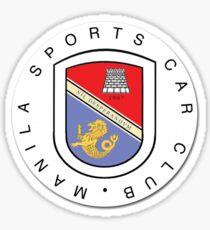 Sports car sticker Sticker