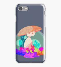 Mushroom dude iPhone Case/Skin