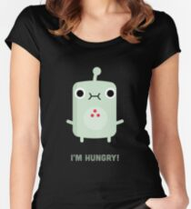 Little Monster - I'm Hungry! Women's Fitted Scoop T-Shirt