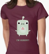 Little Monster - I'm Hungry! Womens Fitted T-Shirt