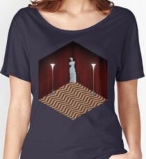 Twin Peaks Black Lodge Women's Relaxed Fit T-Shirt