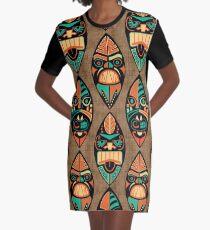 20206613 MCM Tiki Lounger Graphic T-Shirt Dress