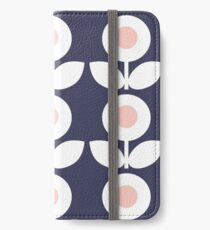 MCM Bloomin 'Bluebell iPhone Flip-Case/Hülle/Skin