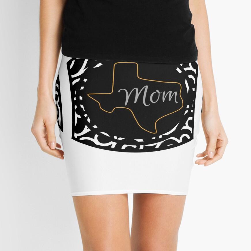 Texas Football Mom Mini Skirt
