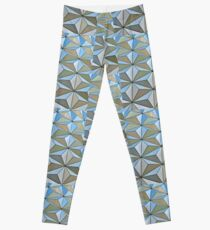 Theme Park Pattern Leggings
