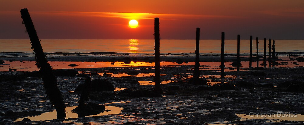 Summers Sunrise by Christian Davies