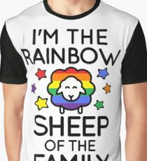 I'm the Rainbow Sheep of the Family Graphic T-Shirt