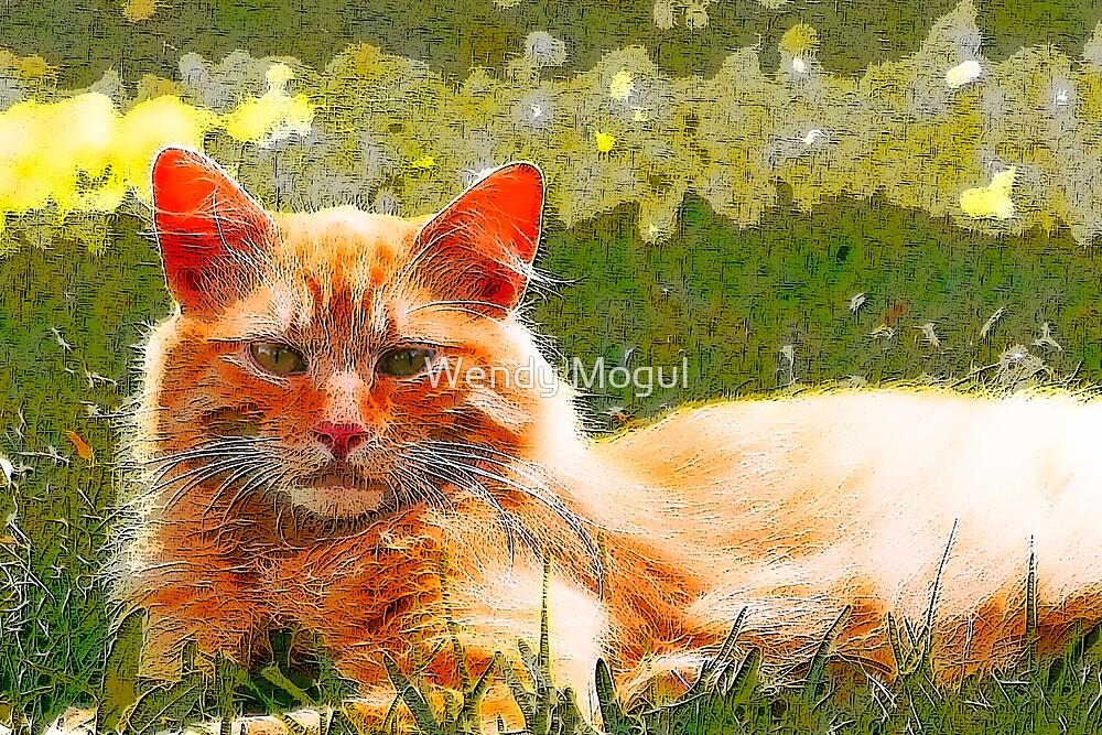 Kitty Art by Wendy Mogul