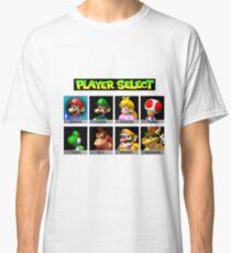 Player Select Mario Kart N64 Classic T-Shirt