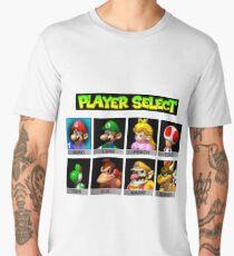 Player Select Mario Kart N64 Men's Premium T-Shirt