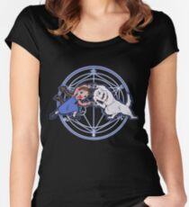 Fullmetal Fusion Ha! Women's Fitted Scoop T-Shirt