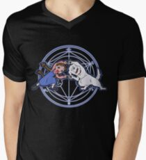 Fullmetal Fusion Ha! Men's V-Neck T-Shirt