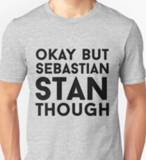 Sebastian Stan Slim Fit T-Shirt