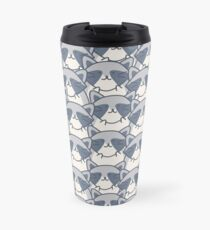 Tupi The Raccoon Pattern Travel Mug