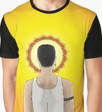 Freddie Mercury Tribute Graphic T-Shirt