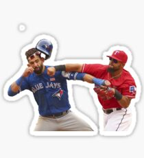 Odor/Bautista Fight Sticker