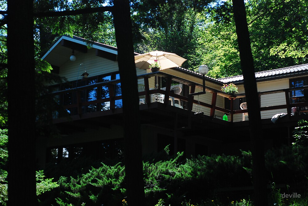 My Cottage on 3 Mile Lake Muskoka by deville