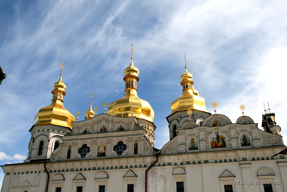 Dormition Church, Pecherskaya Lavra by Mariya Manzhos