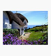 English Cottage Photographic Print